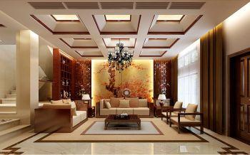 2019中式150平米效果图 2019中式别墅装饰设计