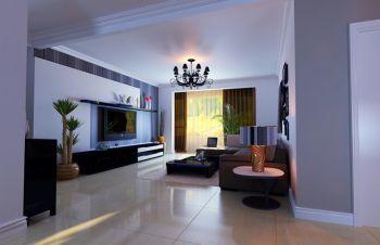 中山门西里简约风格二居室装修效果图