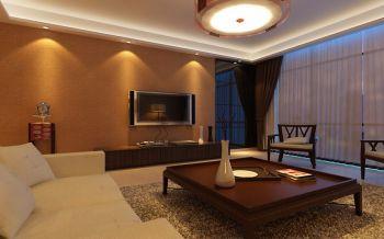 2021现代中式100平米图片 2021现代中式二居室装修设计