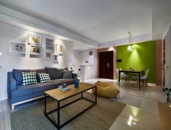 幸福牡丹园简单风格两居室装修图片