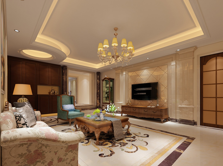 3室3卫2厅古典风格