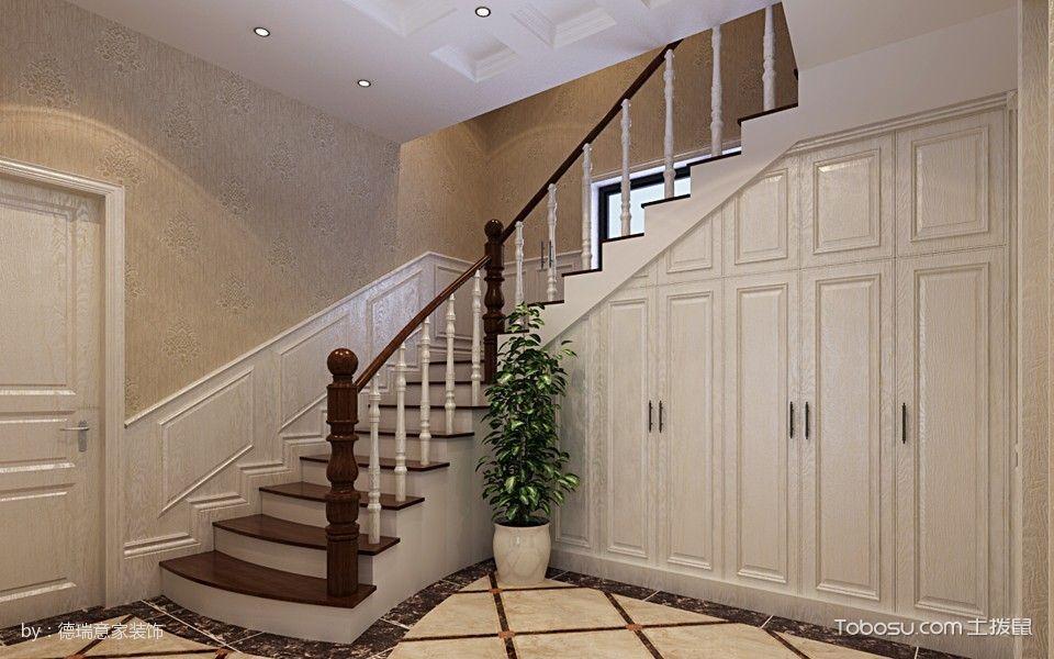 2019现代欧式玄关图片 2019现代欧式楼梯装修效果图片