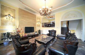 浩达公寓欧式典雅风格大户型设计图片