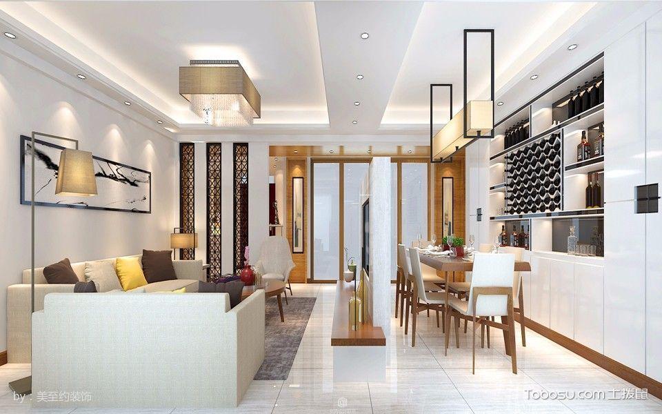 2021韩式90平米效果图 2021韩式套房设计图片