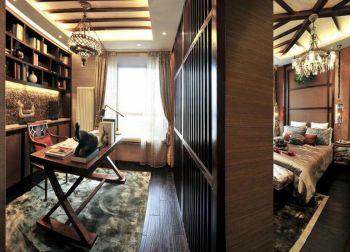 东南亚混搭风格豪华装修样板间图片