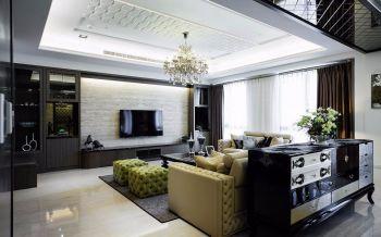 齐门人家现代古典三居室装修效果图