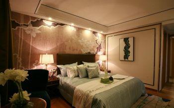 现代混搭式三居室样板间实景图