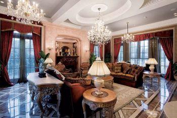 古典简奢欧式别墅装修效果图