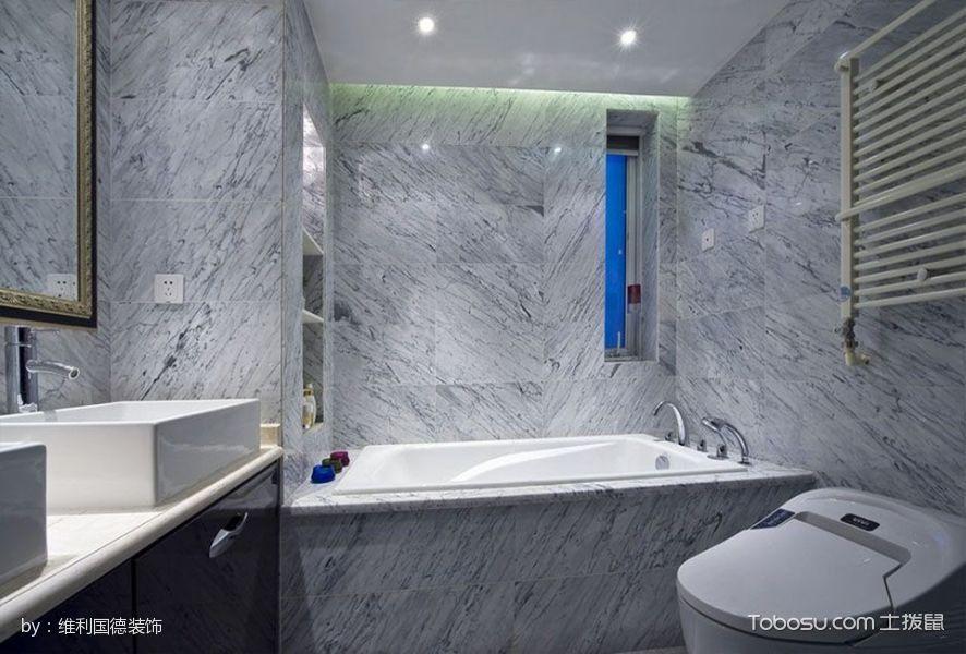 2019现代欧式卫生间装修图片 2019现代欧式洗漱台装修设计图片
