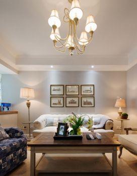 海岸城清新法式二居室装修图片