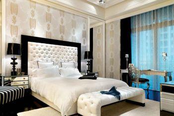 舒适卧室床装潢设计图片