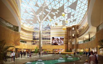 大型商场装修设计效果图