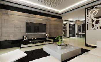 现代简约风格三居室样板图片
