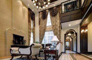 美式复式家居别墅装修效果图