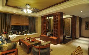 东南亚风格两居室装修效果图