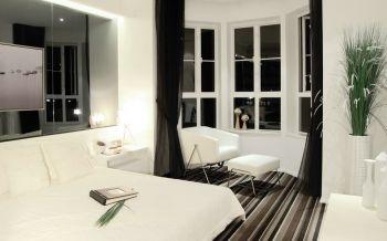 三居室现代简约式样板间效果图