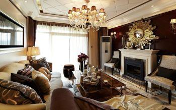 现代法式三居室设计效果图