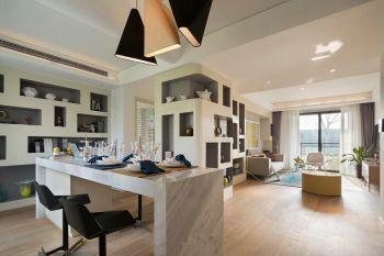三居室简约风格案例样板房图片