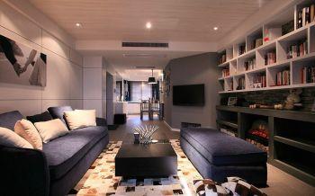 后现代两居室装修效果图