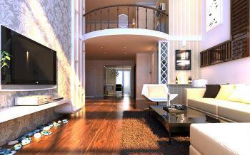 现代简约风格复式阁楼装修案例