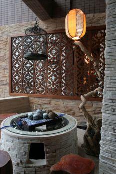 中式古典风格庭院装修效果图