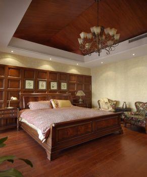 卧室田园风格装潢设计图片