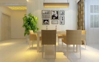 餐厅照片墙现代简约风格装饰效果图