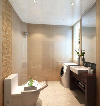 卫生间现代中式风格装修效果图
