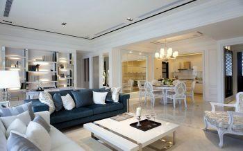 简欧清雅风格两居室装修案例图