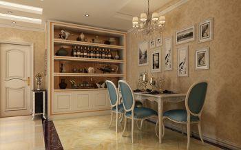 餐厅照片墙现代欧式风格装修效果图