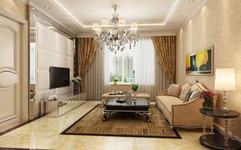 客厅飘窗现代欧式风格装饰效果图