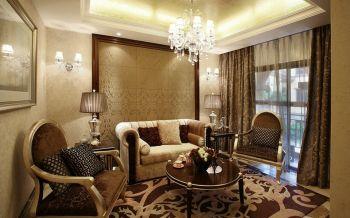 四居室欧式古典风格装修案例图