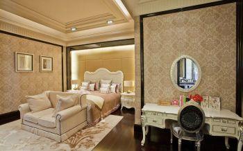 卧室现代欧式风格效果图