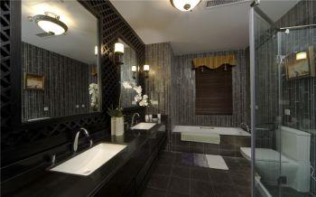 卫生间中式风格装潢设计图片