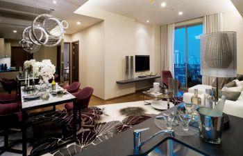 金苑公寓现代简约风格设计图片