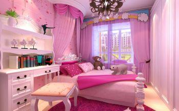 儿童房简欧风格装潢设计图片