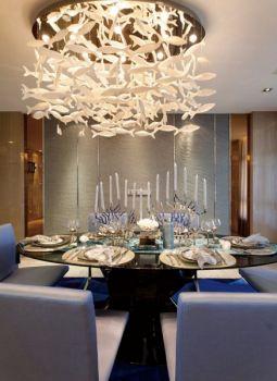 餐厅现代简约风格装潢设计图片