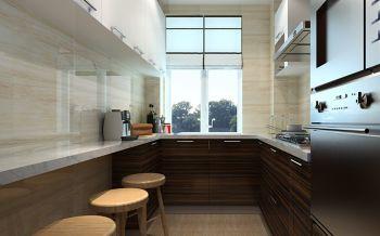 厨房吧台现代欧式风格装修设计图片
