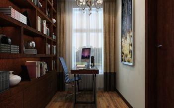 书房现代欧式风格装潢设计图片