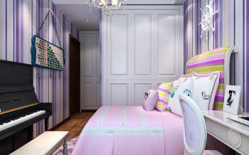 儿童房现代欧式风格装潢效果图