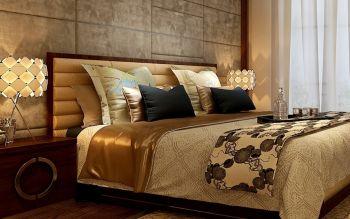 卧室现代中式风格装饰图片