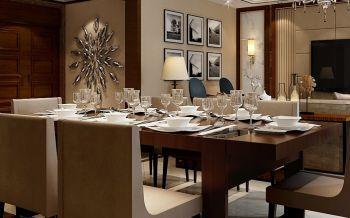 餐厅现代中式风格装饰设计图片
