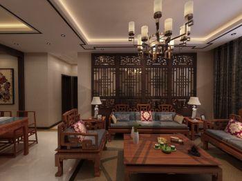 客厅中式风格效果图