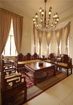 客厅中式古典风格装饰效果图