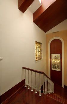 楼梯中式古典风格装潢图片