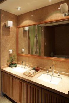 卫生间现代中式风格装饰效果图