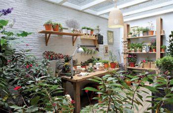 花园现代中式风格装潢设计图片