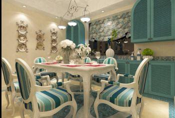 餐厅地中海风格装饰效果图