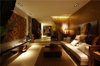 东南亚式风格混搭两房装修图片