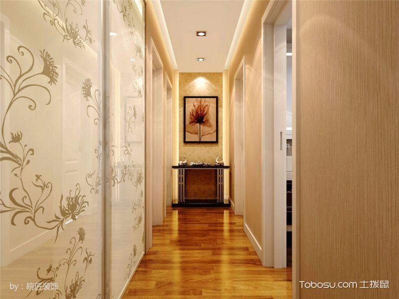 121平三居室户型最新装修设计方案展示